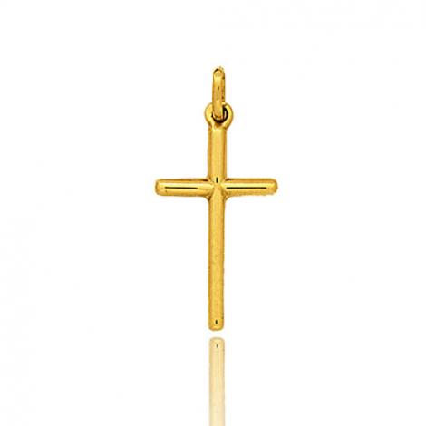 Pendentif Croix Or Jaune Floriane