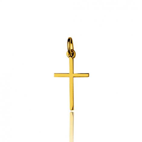 Pendentif Croix Or Jaune Gabriella