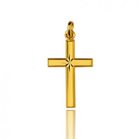 Pendentif croix Or Jaune Gaelle