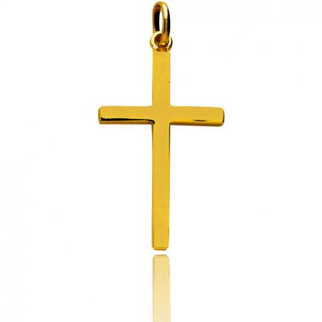 Pendentif Croix Or Jaune Liliana