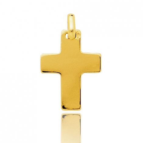 Pendentif Croix Or Jaune Lucia