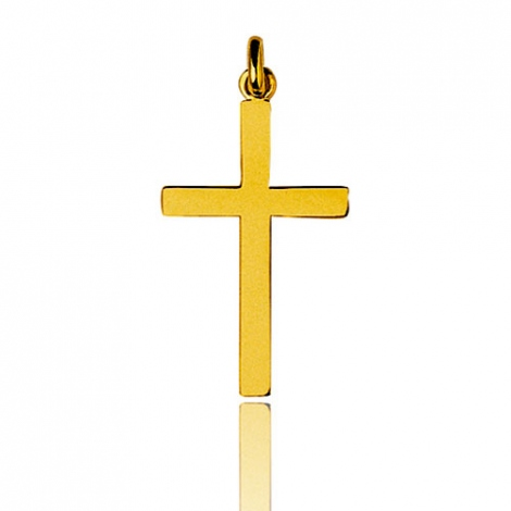 Pendentif Croix Or Jaune Lurilla