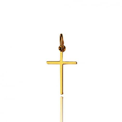 Pendentif Croix Or Jaune Marélie