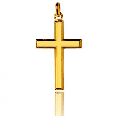 Pendentif croix Or Jaune Océania