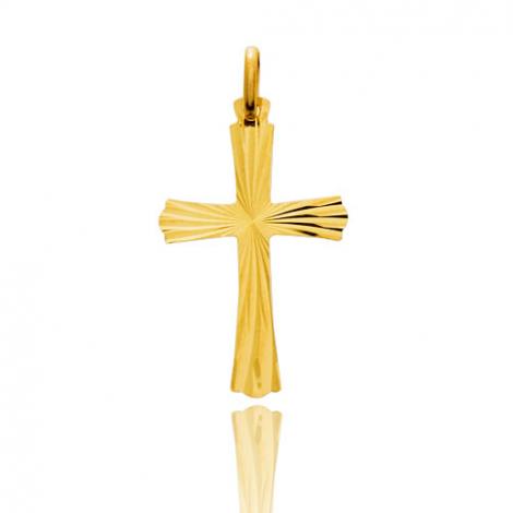 Pendentif croix Or Jaune Solène