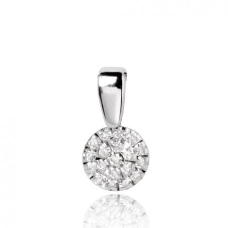 Pendentif diamant Or Blanc 0.17 ct  Féerique - 75R65WK17/T