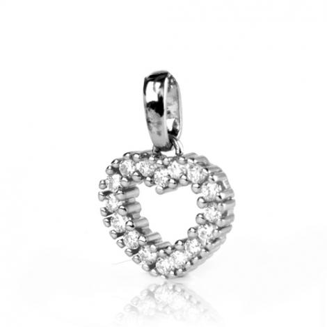 Pendentif diamant Or Blanc 0.25 ct  Laurianne - 232034-B2