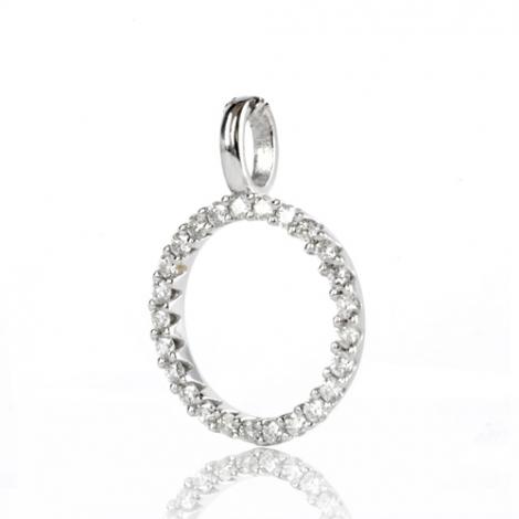 Pendentif diamant Or Blanc 0.25 ct  Sirèna - 232236-PE