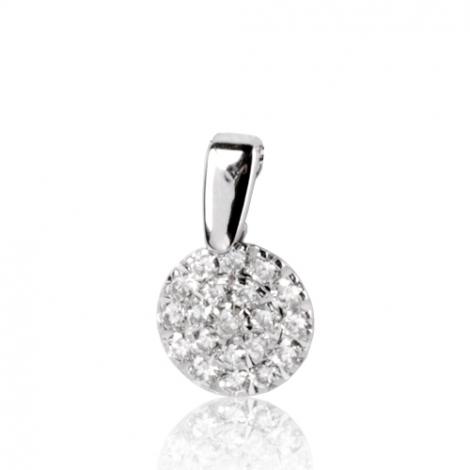 Pendentif diamant Or Blanc 0.34 ct  Sandrine - 75R80WK34/T