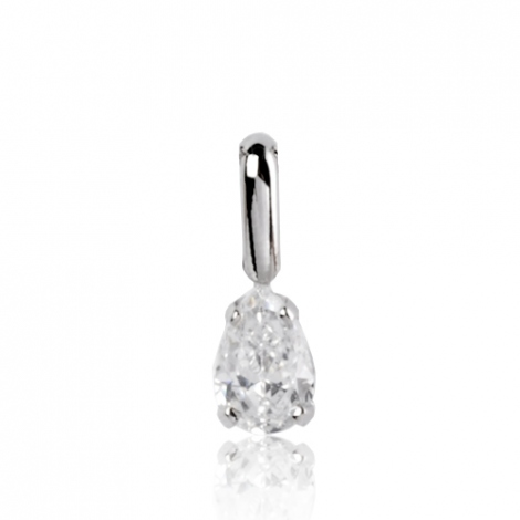 Pendentif diamant Or Blanc 0.35 ct  Azaly - 7PP035WD