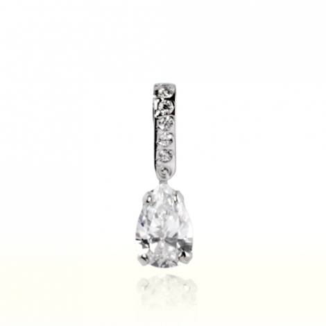 Pendentif diamant Or Blanc 0.35 ct  Marjorie - 7PP135WD