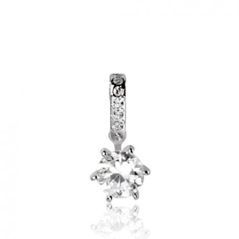 Pendentif diamant Or Blanc 0.40 ct  Clarisse - 7PA2040WD