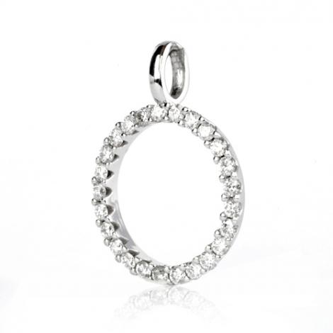Pendentif diamant Or Blanc 0.5 ct  Alixe - 232237