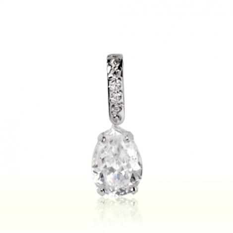 Pendentif diamant Or Blanc 0.65 ct  Alessia - 7PP165WD