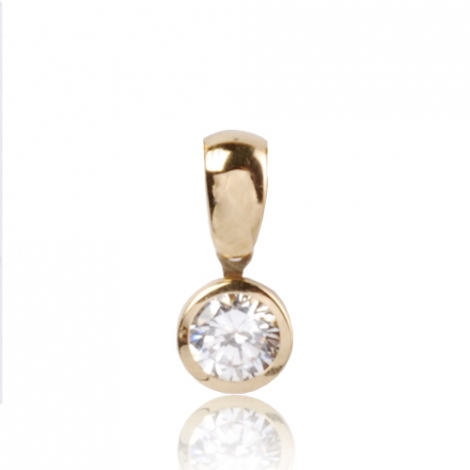 Pendentif diamant Or Jaune 0.30 ct  Manon - 7PAC030D