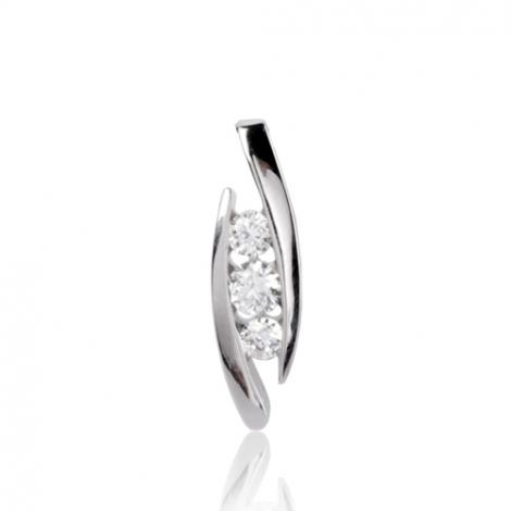 Pendentif diamant Or Jaune 0.33 ct ct Kyana