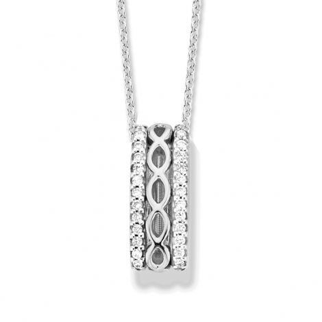 Pendentif Diamants One More  - Ischia - 059417A