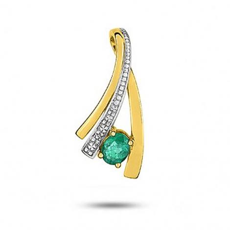 Pendentif émeraude diamant Titania - MA144BEB5