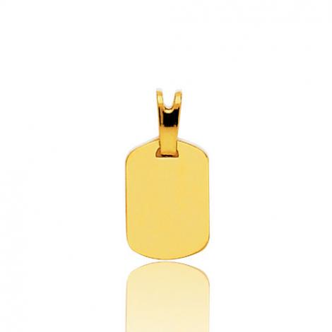 Pendentif or jaune  Or Jaune Claudia - 2865