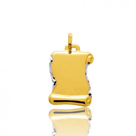 Pendentif or jaune parchemin 2 Ors Aurora - 662053
