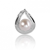 Pendentif perle blanche Yuka