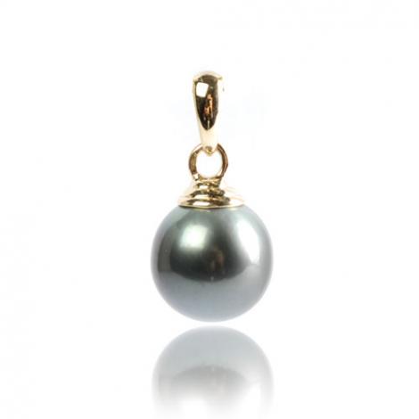 Pendentif perle de Tahiti 11-12 mm Emere- PE03111215-J1.5