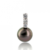Pendentif perle de Tahiti 11-12 mm Mereana- B66800