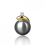 Pendentif perle de Tahiti 7-8 mm Hereata- B67807