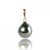 Pendentif perle de Tahiti 8-9 mm Vaema- PE03080905-J
