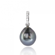 Pendentif perle de Tahiti 9.5 mm Ioana- 220916