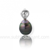 Pendentif perle de Tahiti 9 mm Matahina- PTLP248G