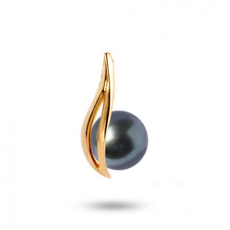 Pendentif perle de Tahiti 9 mm Taiana- 210747TA