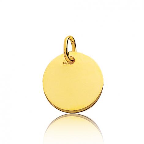 Pendentif rond or jaune Or Jaune Angélique - 660076