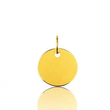 Pendentif rond or jaune Or Jaune Lauriane - 9KV8