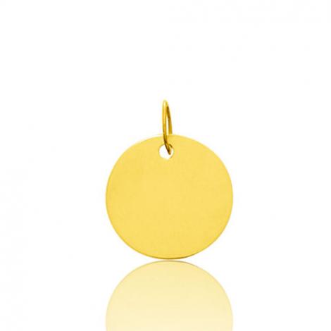 Pendentif rond or jaune Or Jaune Laurianne - 660029