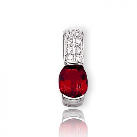 Pendentif rubis diamant Irina - PE3194-R