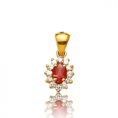 Pendentif rubis diamant Lucia - PE 1867RU