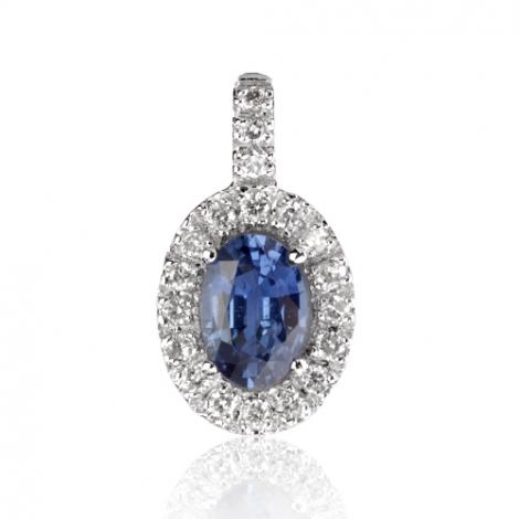 Pendentif saphir diamant Amélie -PE4444-S