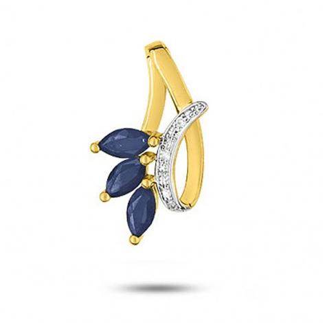 Pendentif saphir diamant Eshana -MN103BSB4