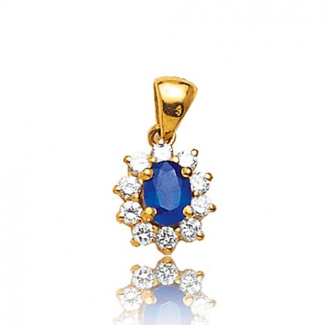 Pendentif saphir diamant Larisa -PE 1866-SA