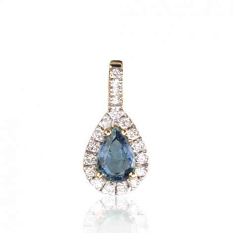 Pendentif saphir diamant Pasionaria -PE4270-SA