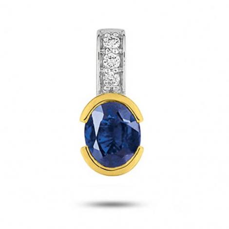 Pendentif saphir diamant Yustina -S18.12101