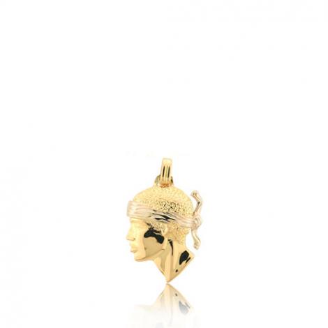 Pendentif tête de Maure Or Jaune Leïla - PT1