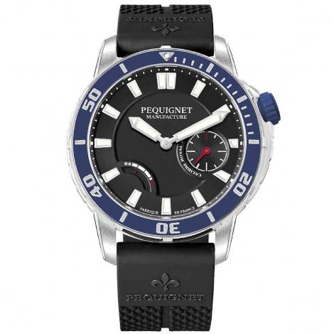 Pequignet Royale 300 Automatique Cadran Noir - 9051443/30
