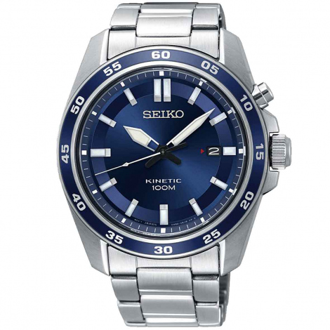 SEIKO plongée Kinetic cadran Bleu 42.6 mm - SKA783P1