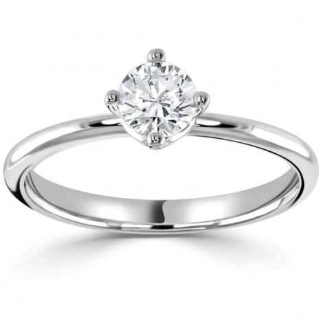 Solitaire diamant 0.25 ct Chloé - R1-1105