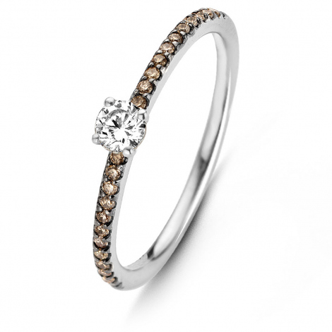Solitaire diamants One More 0.14 ct  - Salina 91ZG36A3