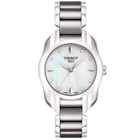 Tissot Lady T-wave Diamants Acier bracelet Acier T023.210.11.116.00