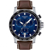 Tissot Supersport Chrono Quartz Cadran Bleu Bracelet Cuir - T125.617.16.041.00