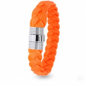 Albanu - Bracelet en Cordon Marin Orange - 6 mm - Julianna - 608TCMACN11